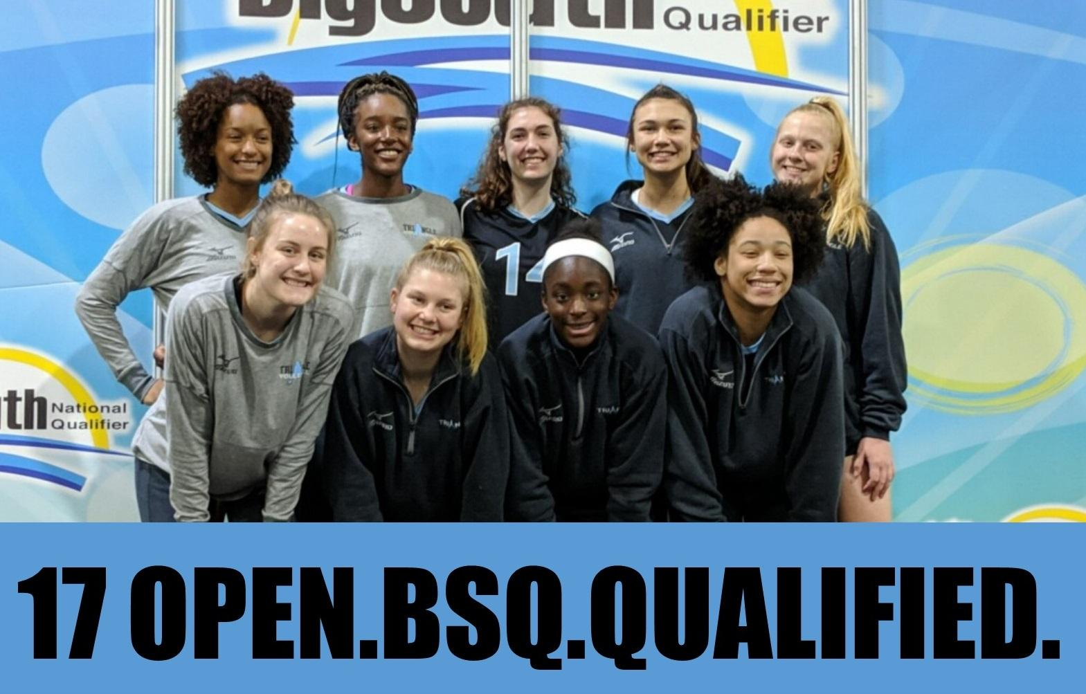 17 Black Qualifies For Usav Nationals Triangle Volleyball Club