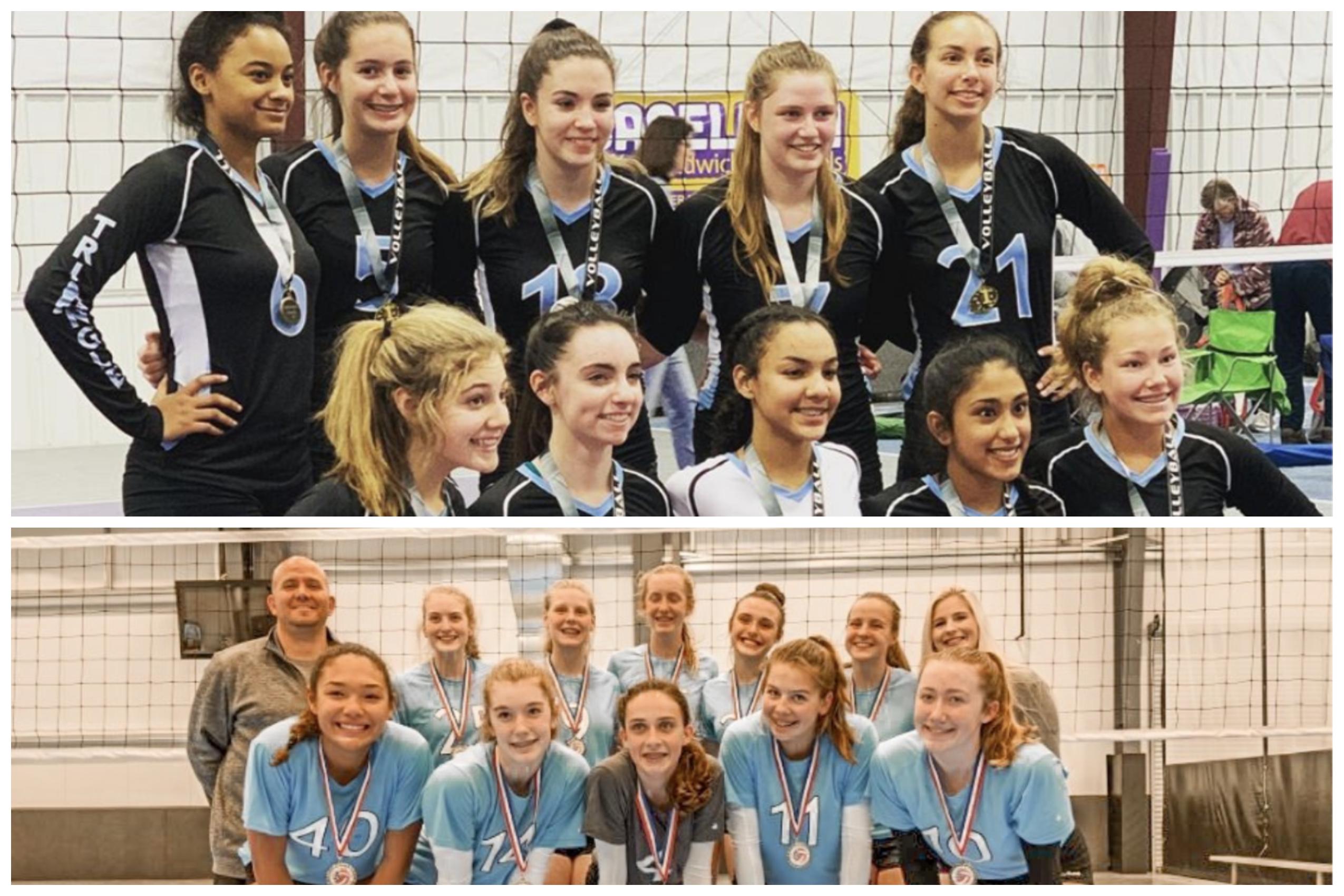 Triangle Posts Strong Start To Carolina Region Season Triangle Volleyball Club