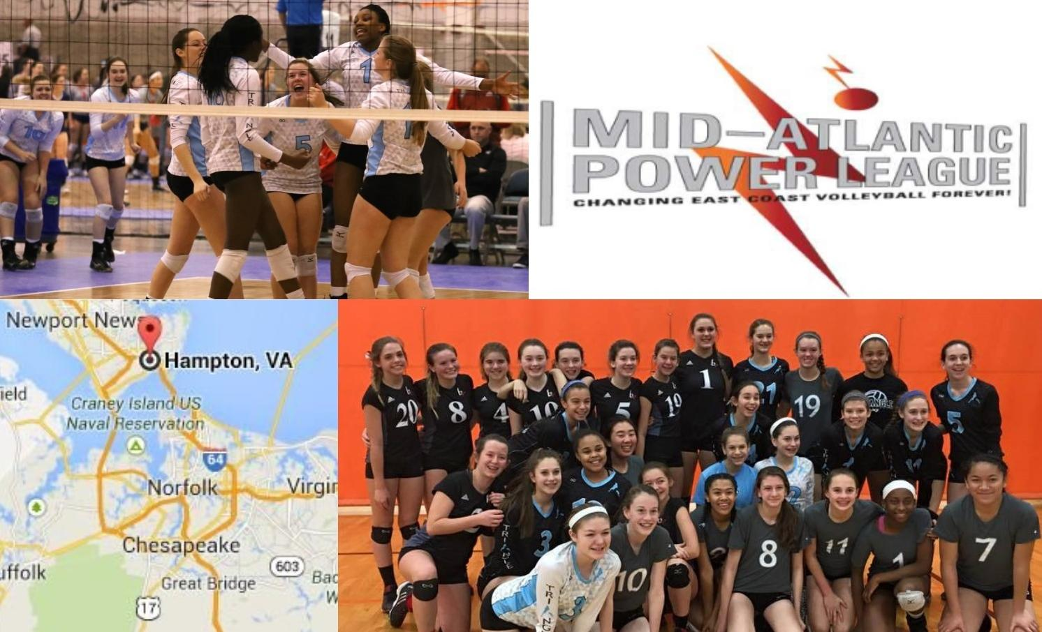 Mapl Hampton Provides Great Early Season Competition Triangle Volleyball Club